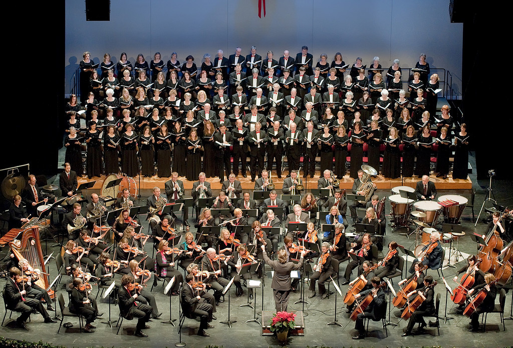 Chorus and most Orchestra