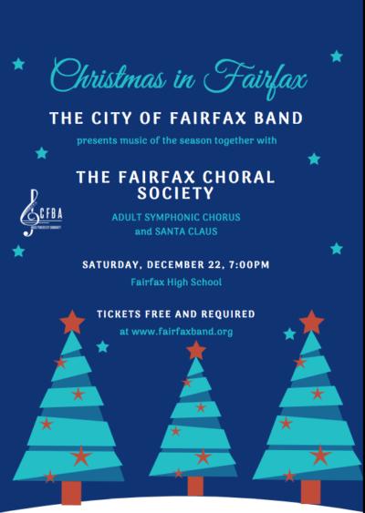 Christmas in Fairfax | Symphonic Chorus, Vocal Arts Ensemble, City