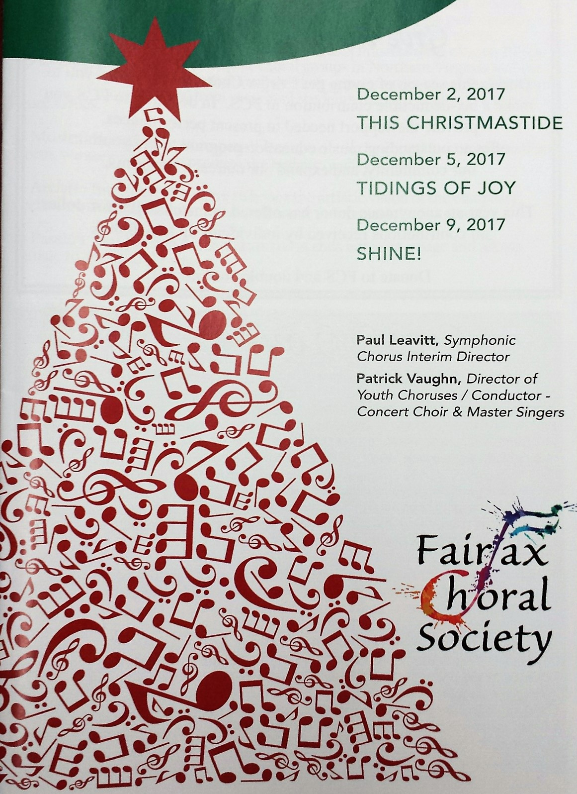 This Christmastide ~ CD Recording – The Fairfax Choral Society
